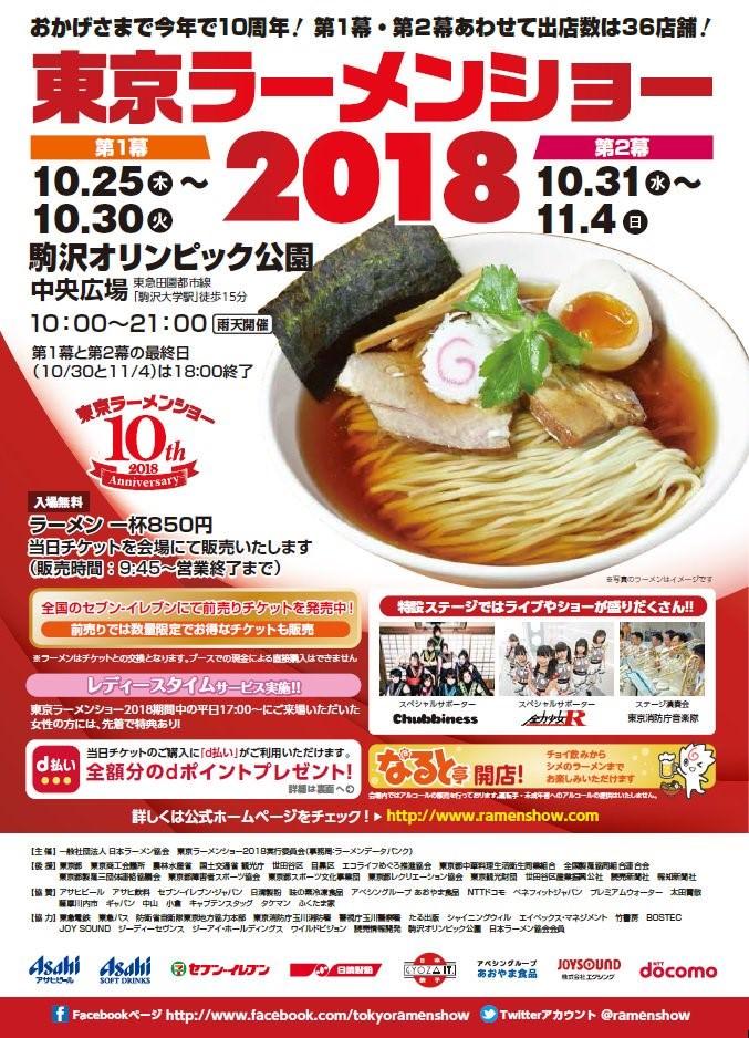 「2018東京拉麵展」登場!吃貨們預備囉~