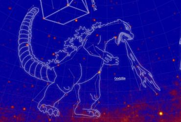 NASA公佈全新21個星座,包含「哥吉拉座」、「小王子座」…等