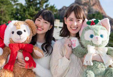 2018東京迪士尼海洋《聖誕期間限定達菲熊家族》系列商品一覽