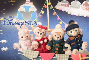 2018東京迪士尼海洋《達菲熊家族Twinkle Winter》寒冬限定商品