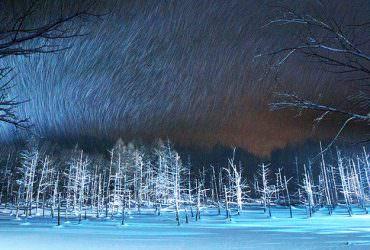 冬季限定美景!青池.白鬚瀑布2018冬季點燈11月起~2019/4/30絕景再現