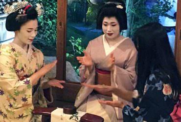 【京都】與藝舞妓面對面交流體驗(芸舞妓さんのお座敷)