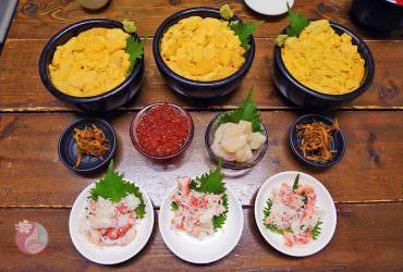 【札幌美食】二条市場CP值超高海鮮丼~海鮮處魚屋台所(海鮮処魚屋の台所)