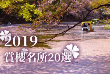 【櫻花祭】2019日本賞櫻名所20選