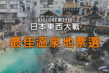 【溫泉東西大戰】人氣溫泉地票選結果,草津溫泉、別府溫泉拿下冠軍!