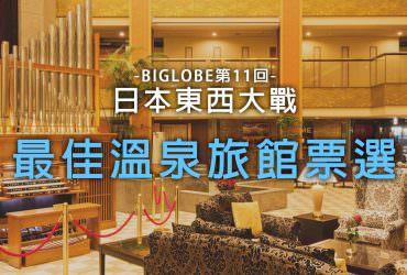 【溫泉東西大戰】人氣溫泉旅館票選!別府杉乃井、鬼怒川Asaya奪冠
