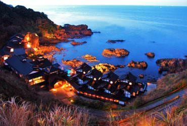 日本最靠近大海的【懸崖溫泉旅館】能登半島燈之宿(ランプの宿)