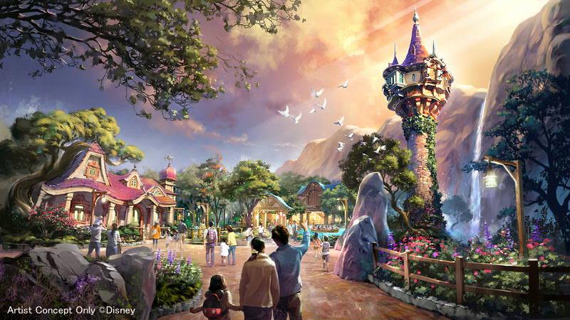 東京迪士尼海洋新園區「Fantasy Springs(魔法之泉)」內容介紹