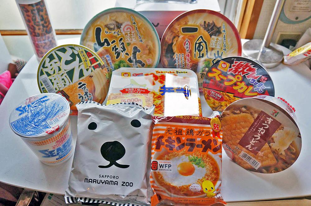 【日本超商購物】北海道日本泡麵7-11便利商店好吃泡麵大推薦