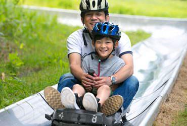 夏天小樽就要這樣玩!前進小樽天狗山體驗夏季限定超長溜滑梯、花栗鼠公園