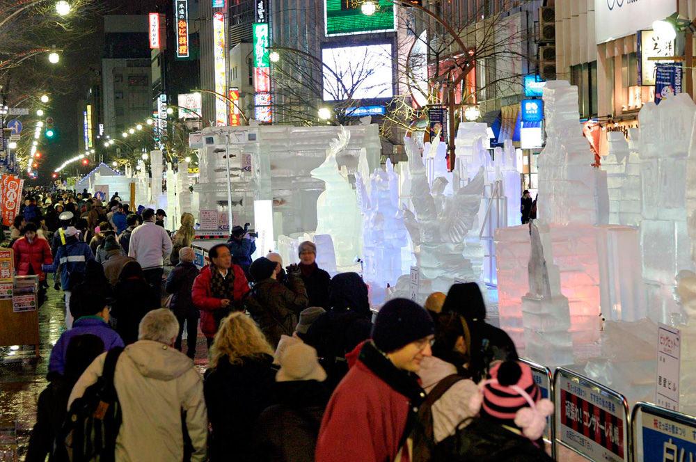 2020世界四大冰雪節之一【北海道札幌冰雪節】不容錯過的冰之藝術