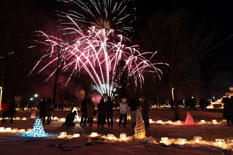 2020北海道1月.2月冬季煙火活動一覽!不容錯過的冬之花火盛宴!