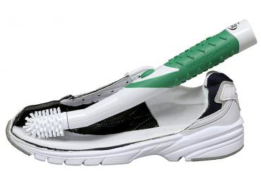 便利日本小物【聲波洗滌器電動鞋刷】符合鞋身拐角設計輕鬆刷鞋(ソニックスクラバー 電動シューズブラシ)