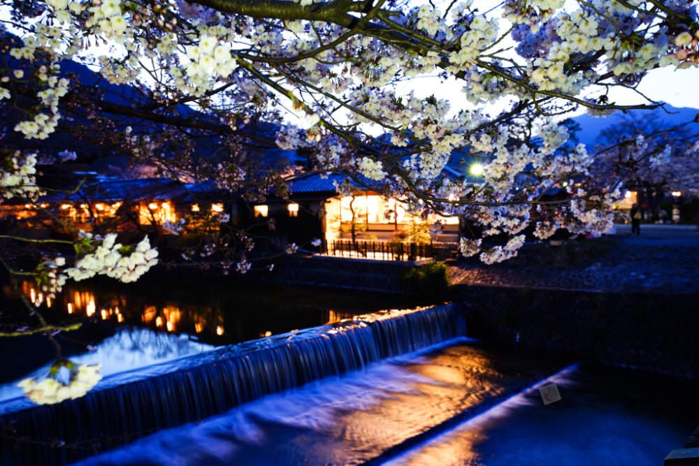 夜訪渡月橋~京都嵐山溫泉花傳抄(花伝抄)日式溫泉旅館